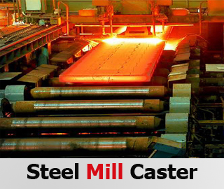 Steel mill Caster, Steel industrial